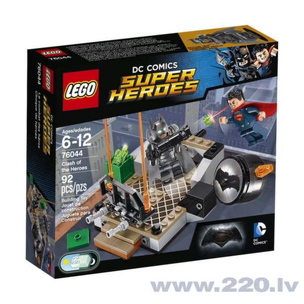 Конструктор Lego Super Heroes Clash of the Heroes 76044 цена и информация | LEGO | 220.lv