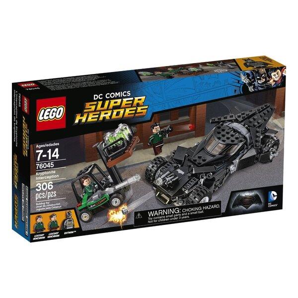 Конструктор Lego Super Heroes Kryptonite Interception 76045 цена и информация | LEGO | 220.lv