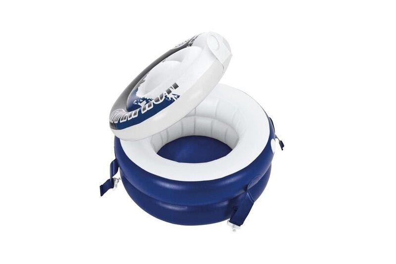 Peldošs dzērienu ledusskapis Intex River Run Connect Cooler, 57 cm cena un informācija | Baseini | 220.lv