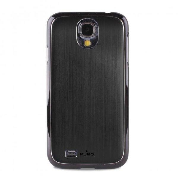 Чехол для телефона Samsung Galaxy S4 + защитная пленка Puro, Чёрный цена и информация | Maciņi, somiņas | 220.lv