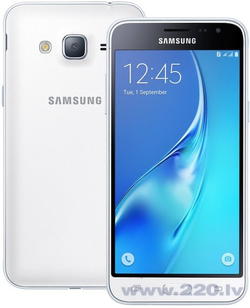 Samsung Galaxy J3 J320 8GB LTE White цена и информация | Mobilie telefoni | 220.lv