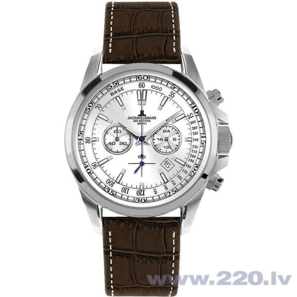 Vīriešu pulkstenis Jacques Lemans 1-1117BN cena un informācija | Vīriešu pulksteņi | 220.lv