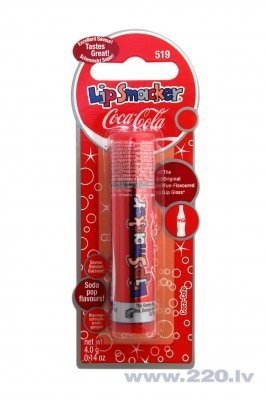 Lūpu balzāms Lip Smacker Coca Cola Classic 4 g cena un informācija | Lūpas | 220.lv