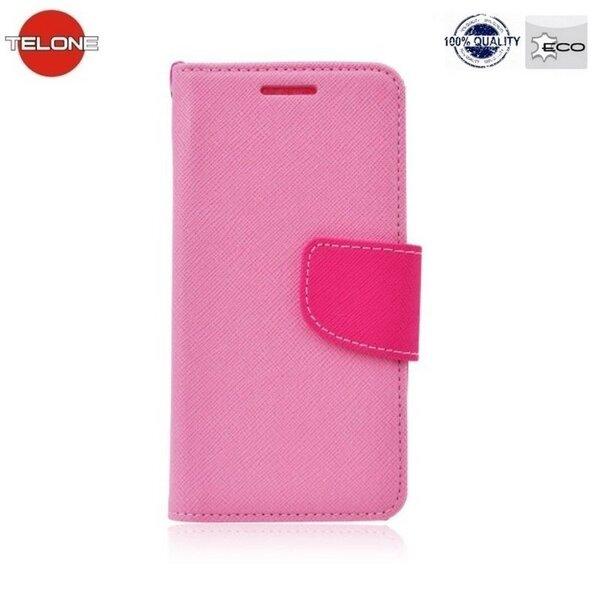 Telone Fancy Diary Book Case Чехол-книжка со стендом для мобильного телефона Samsung Galaxy S7 (G930F), Розовый цена и информация | Maciņi, somiņas | 220.lv