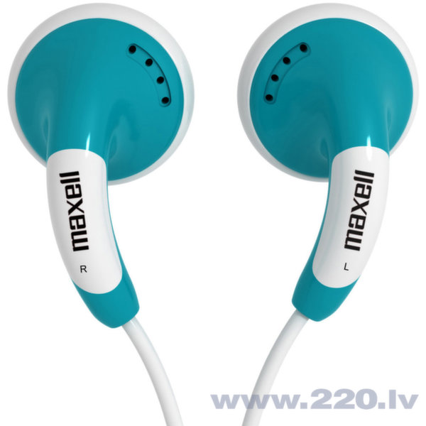 Наушники Maxell Budz Colour (синие) цена и информация | Austiņas | 220.lv