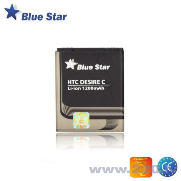 BlueStar Akumulators HTC Desire C A320E Li-Ion 1200 mAh Analogs BA S850 цена и информация | Akumulatori mobilajiem telefoniem | 220.lv