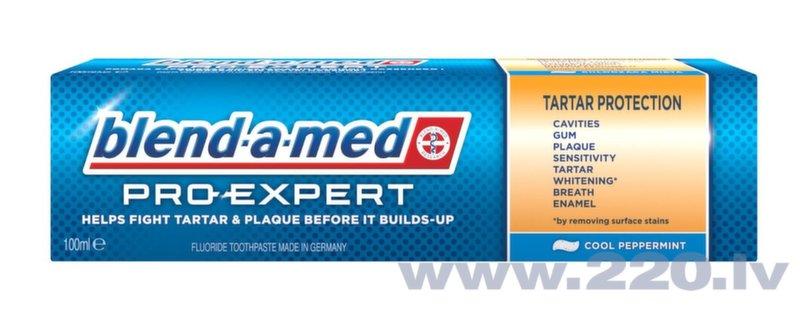 Zobu pasta Blend-a-med Pro-Expert All in 1 Tartar Protection, 100ml cena un informācija | Mutes dobuma higiēna | 220.lv