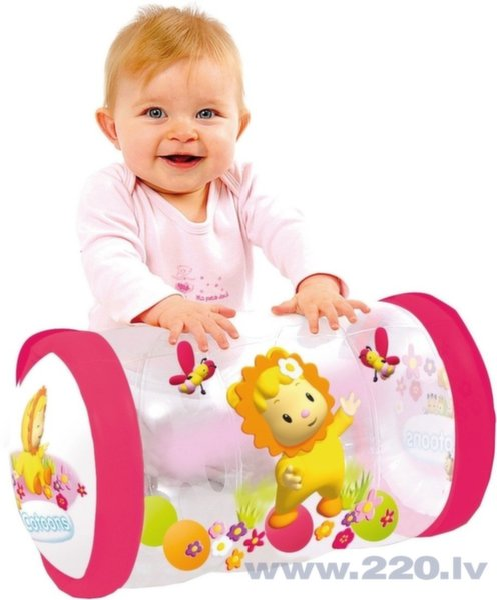 Bērnu piepūšamāis rollers Smoby cena un informācija | Rotaļlietas zīdaiņiem | 220.lv