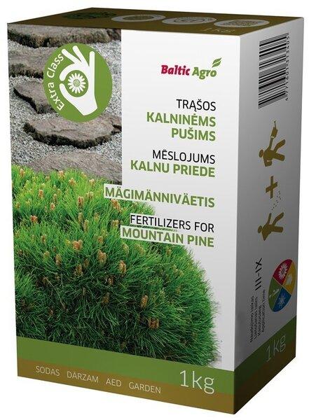 Baltic Agro granulēts mēslojums Kalnu priedēm, 1kg cena un informācija | Mēslojumi | 220.lv