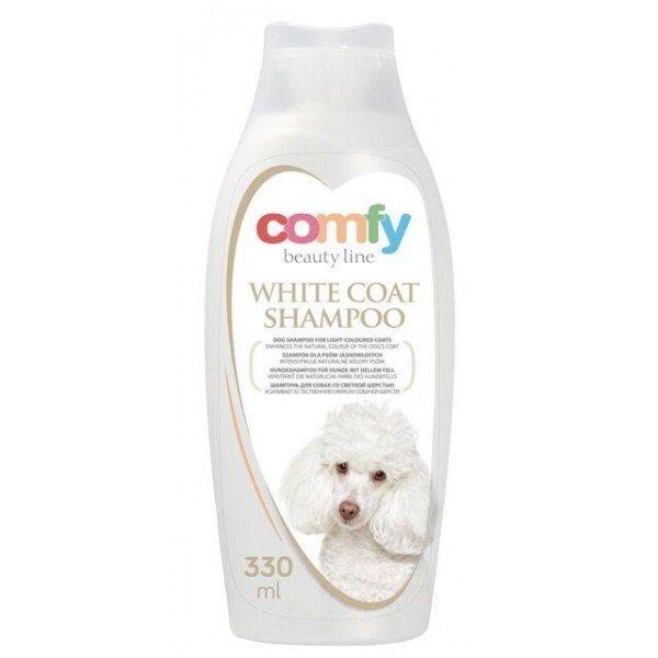 Comfy šampūns baltai spalvai 330 ml cena un informācija | Kopšanas piederumi suņiem | 220.lv