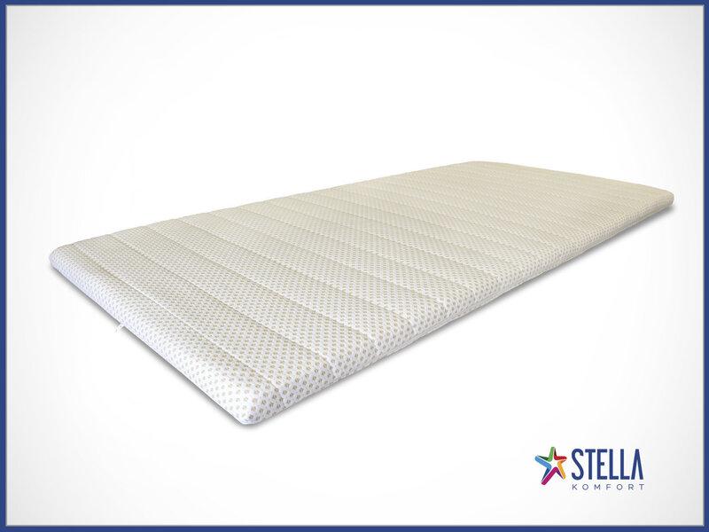 Virsmatracis Stella 1 porolona, 200x120x5 cm cena un informācija | Matrači | 220.lv