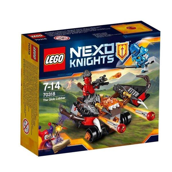 Konstruktors Lego Nexo Knights The Glob Lobber 70318 cena un informācija | LEGO | 220.lv