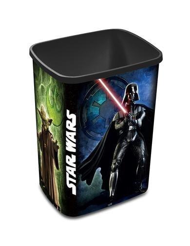 Atkritumu tvertne Curver Deco Flip Star Wars, 25L cena un informācija | Vannas istabas aksesuāri | 220.lv
