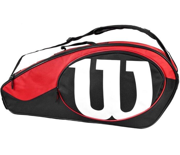 Soma tenisa raketēm Match II 3PK Wilson cena un informācija | Teniss | 220.lv