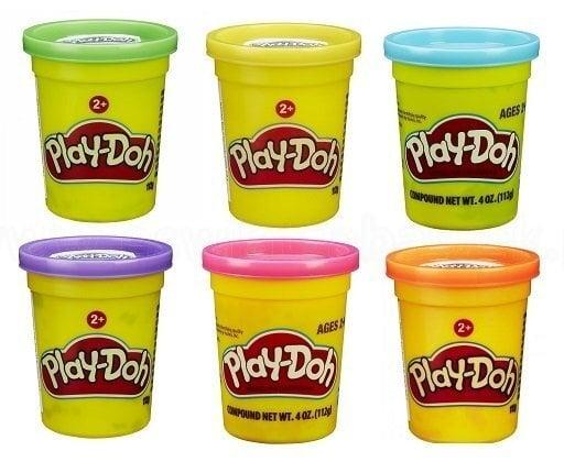 Пластилин Play Doh Single Can, 1 шт., 112 гр., B6756EU4 цена и информация | Zinātniskās un attīstošās spēles, komplekti radošiem darbiem | 220.lv