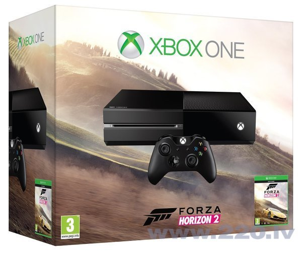 Microsoft Xbox One 500 GB + Forza Horizon 2 цена и информация | Spēļu konsoles | 220.lv