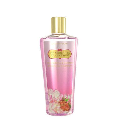 Dušas želeja Victoria's Secret Strawberries & Champagne 250 ml cena un informācija | Parfimēta sieviešu kosmētika | 220.lv