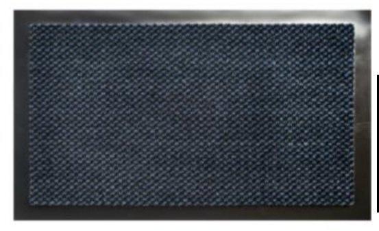 Kājslauķis EQUATEUR DOTS zils 90x150 cm cena un informācija | Kājslauķi | 220.lv