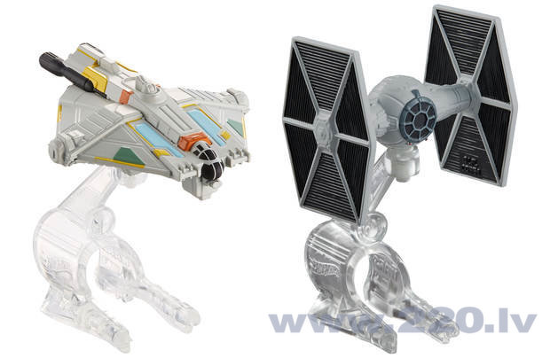 Kosmosa kuģa komplekts Hot Wheels Star Wars, CGW90 cena un informācija | Zinātniskās un attīstošās spēles, komplekti radošiem darbiem | 220.lv