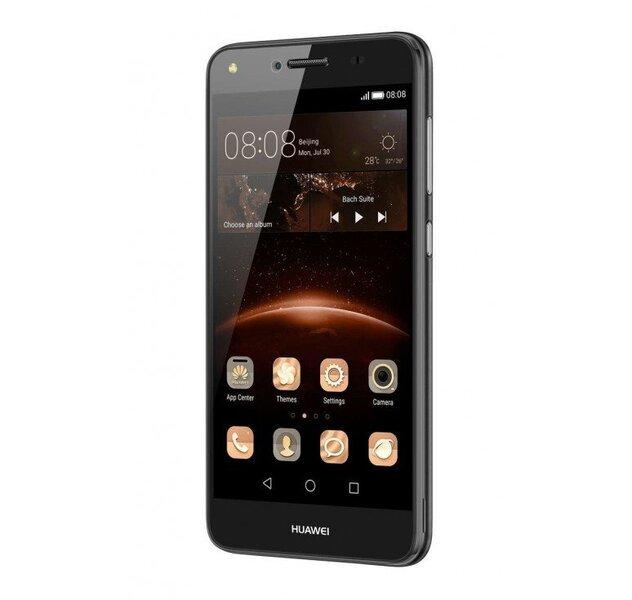 Huawei Y5 II Dual LTE Black cena un informācija | Mobilie telefoni | 220.lv