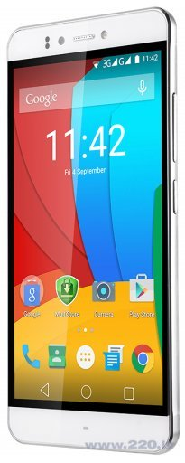 Prestigio Muze F3 (PSP3532) Dual SIM White (Balts) cena un informācija | Mobilie telefoni | 220.lv