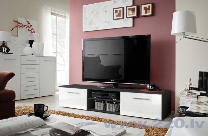 RTV стол Bono II цена и информация | Televizoru galdiņi | 220.lv