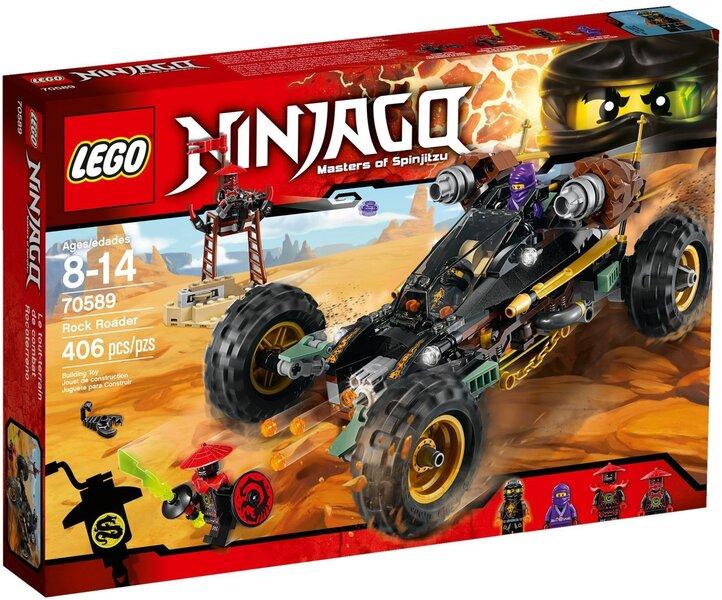 Konstruktors LEGO™ Ninjago Rock Roader 70589 cena un informācija | LEGO | 220.lv