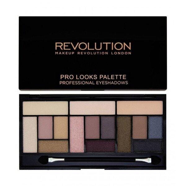 Acu ēnas Makeup Revolution London Pro Looks Stripped & Bare 13 g cena un informācija | Acis | 220.lv