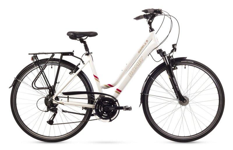 Sieviešu trekinga velosipēds Romet Gazela 3 2016 cena un informācija | Velosipēdi | 220.lv