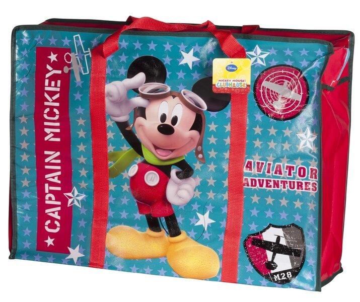 Bērnu soma Mickey Mouse, 60x18x46 cm cena un informācija | Mugursomas | 220.lv