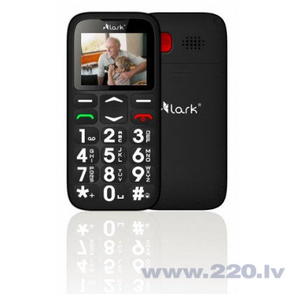Lark Bjorn SP-220 CEU Dual Black (Чёрный) цена и информация | Mobilie telefoni | 220.lv