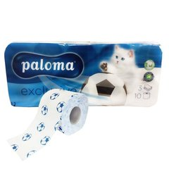 Tualetes papīrs Paloma, 10 gab. cena un informācija | Tīrīšanas piederumi | 220.lv