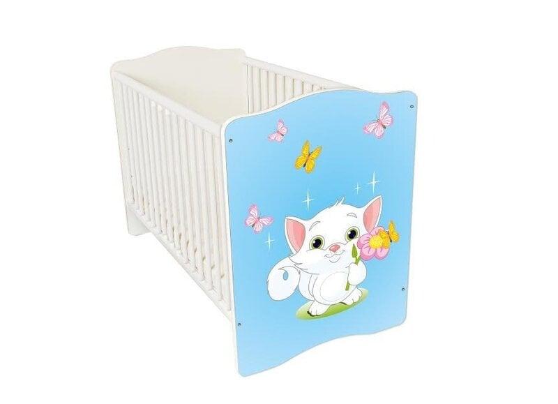 Bērnu gultiņa Amila Baby (10) cena un informācija | Bērnu istabas mēbeles | 220.lv