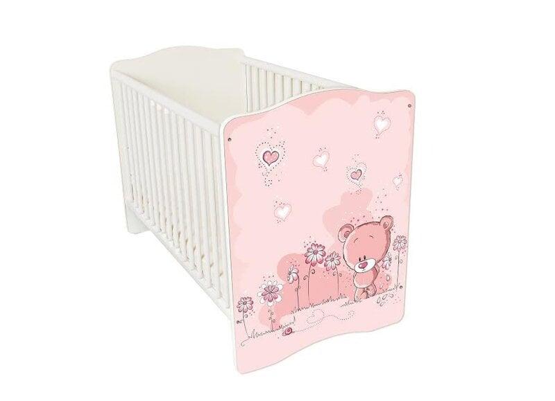 Bērnu gultiņa Amila Baby (6) cena un informācija | Bērnu istabas mēbeles | 220.lv