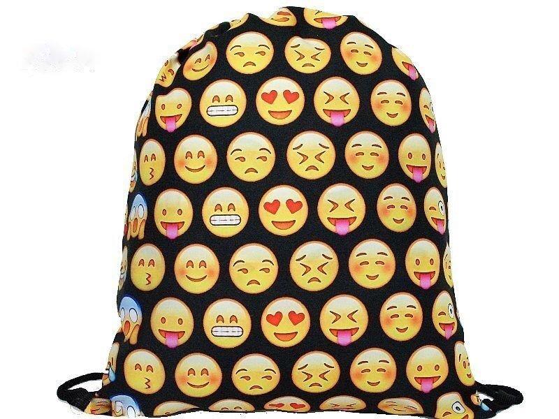 Apavu soma 3D Emoji cena un informācija | Mugursomas | 220.lv