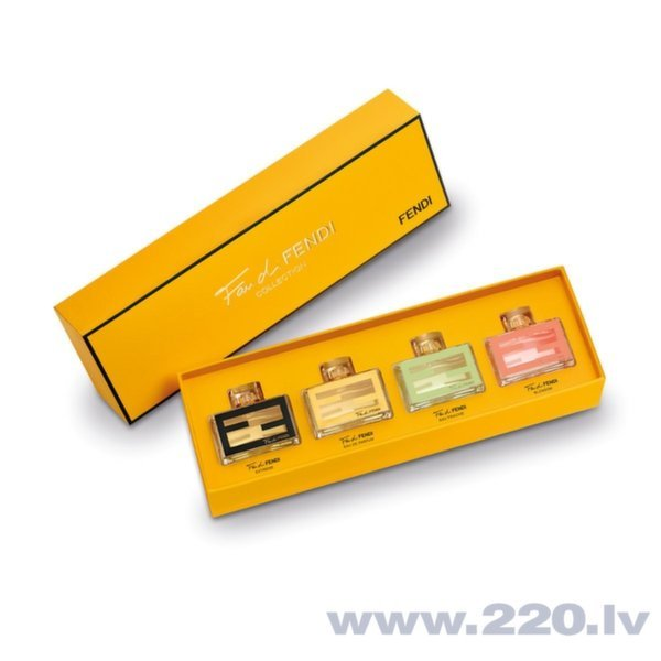 Комплект Fendi Fan Di Fendi Mini Collection Set 4 x 4 мл цена и информация | Sieviešu smaržas | 220.lv