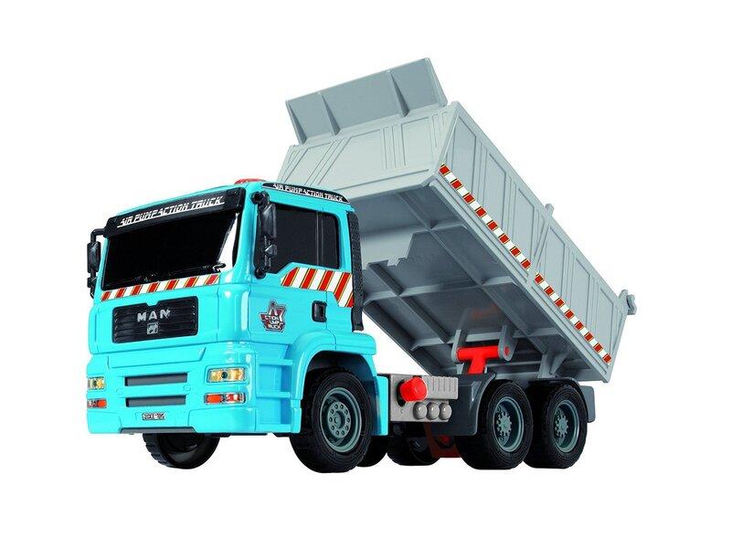 Kravas mašīna ar piekabi un piederumiem Simba, 203805001 cena un informācija | Mašīnas, vilcieni, trases, lidmašīnas | 220.lv
