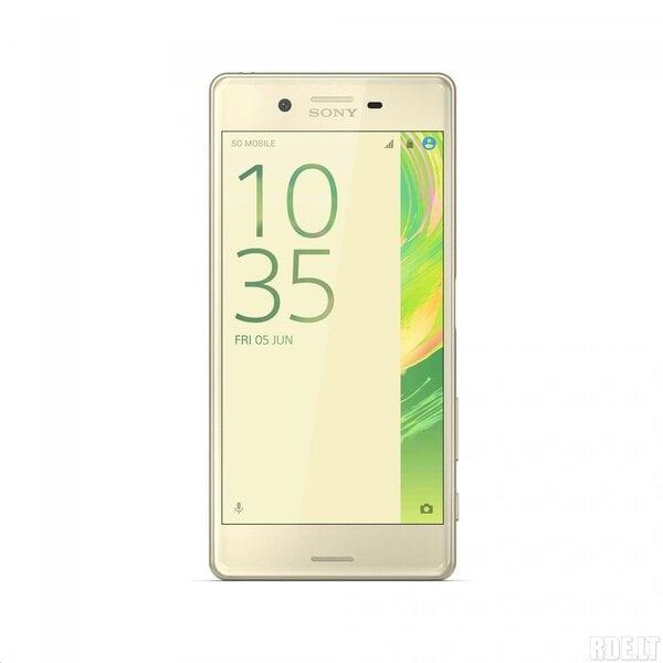Sony Xperia X Performance (F8131) LTE Gold (Lime Gold) cena un informācija | Mobilie telefoni | 220.lv