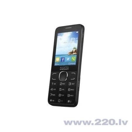 Alcatel 20.07 Black цена и информация | Mobilie telefoni | 220.lv