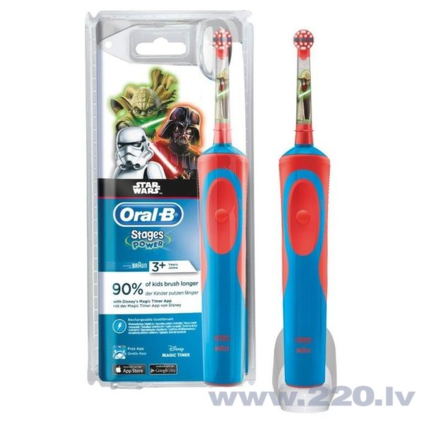 Braun Oral-B D12 Kids Star Wars цена и информация | Personīgā higiēna | 220.lv