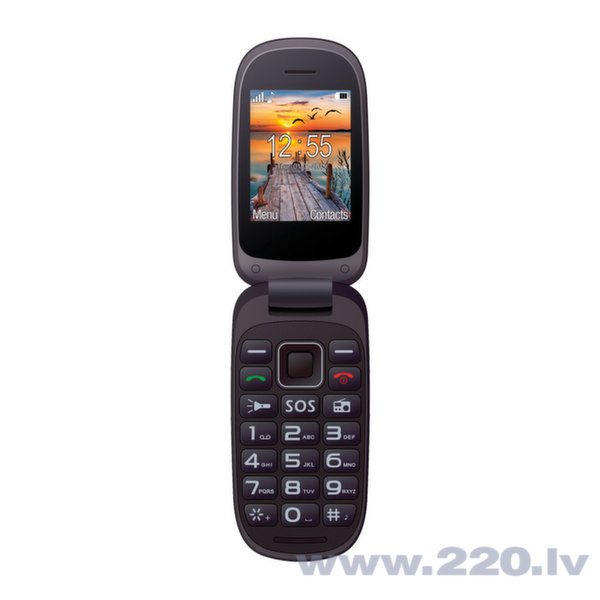 Maxcom MM818 Dual Black ENG цена и информация | Mobilie telefoni | 220.lv