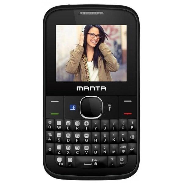 Manta TEL2201 Черный ENG цена и информация | Mobilie telefoni | 220.lv