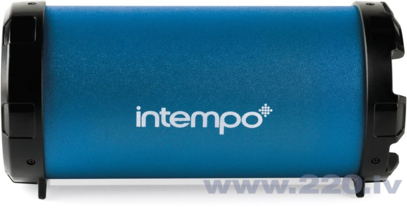 Skaļrunis Intempo Large Tube Bluetooth Zilā krāsā cena un informācija | Skaļruņi | 220.lv