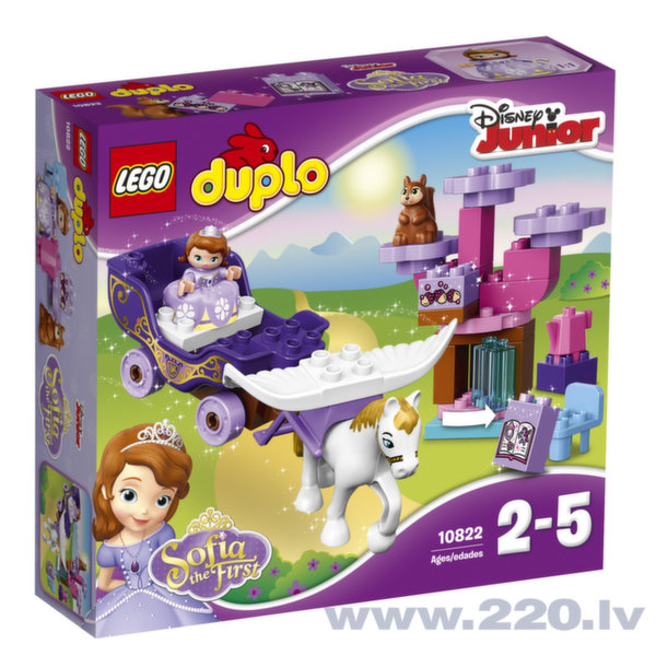 Конструктор LEGO™ DUPLO Sofia the First Magical Carriage 10822 цена и информация | LEGO | 220.lv