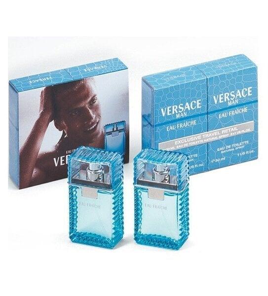 Комплект Versace Man Eau Fraiche: edt 2x30 мл цена и информация | Vīriešu smaržas | 220.lv