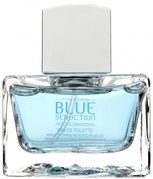 Туалетная вода Antonio Banderas Blue Seduction For Woman edt 50 мл цена и информация | Sieviešu smaržas | 220.lv