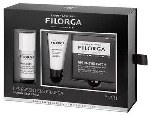 Komplekts Filorga Essentials: acu krēms 15 ml + sejas maska 15 ml + acu maska-plāksteri 2 gab. cena un informācija   Komplekts Filorga Essentials: acu krēms 15 ml + sejas maska 15 ml + acu maska-plāksteri 2 gab.   220.lv