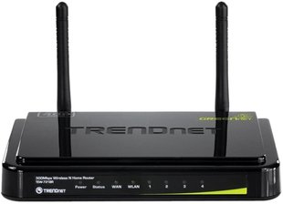Роутер TRENDNET Wireless N ROUTER TEW-731BR 300Mbps