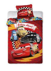 Bērnu gultasveļas komplekts Cars 160x200, 2 daļas cena un informācija | Bērnu gultas veļa | 220.lv