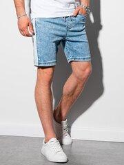 Vīriešu džinsa šorti W221 - gaišs džinss cena un informācija | Vīriešu šorti | 220.lv